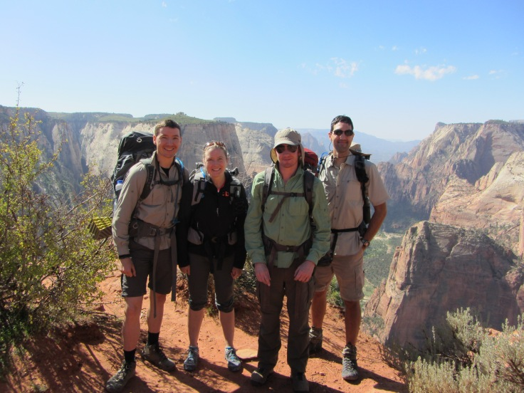 Zion Observation Point East Rim Trail